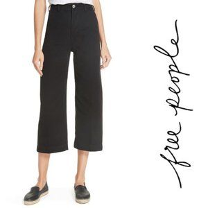 Free People Patti Crop Cotton Pants Sz 31